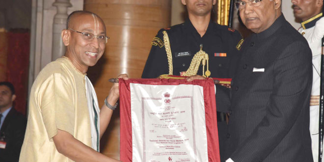 National Award received by Akshayapatra