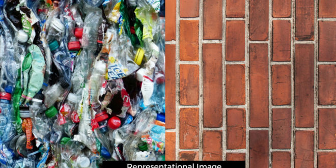 Have you ever heard Bricks made of Waste Plastic and Plant Fibres?