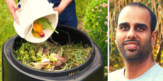 Kitchen Waste to Cooking Fuel and Fertilizer !