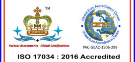 We are ISO 17034 : 2016 accredited Company !