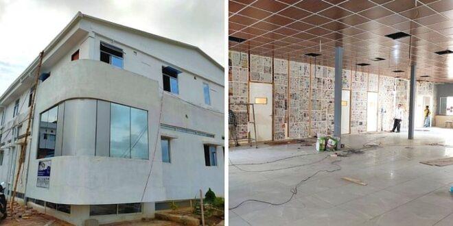 Agro-Waste made Solar Powered Covid facilities !